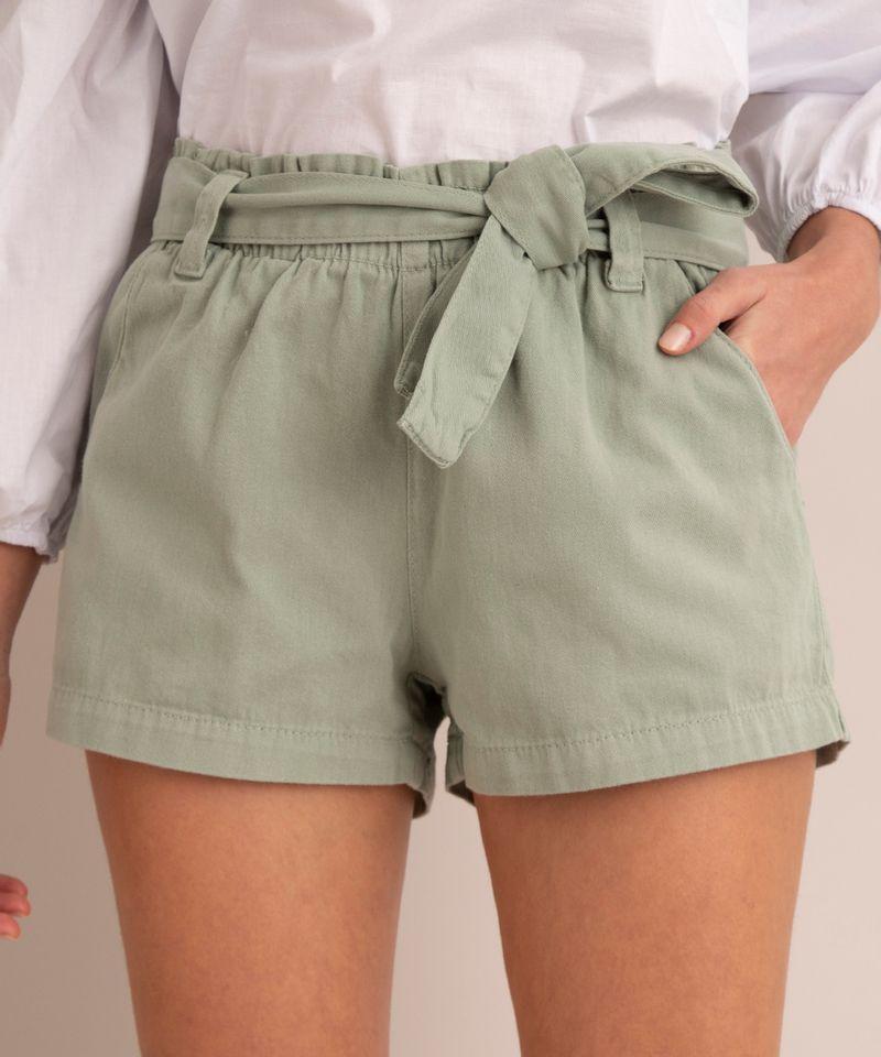 short-clochard-de-sarja-cintura-super-alta-com-faixa-para-amarrar-verde-1005266-Verde_2