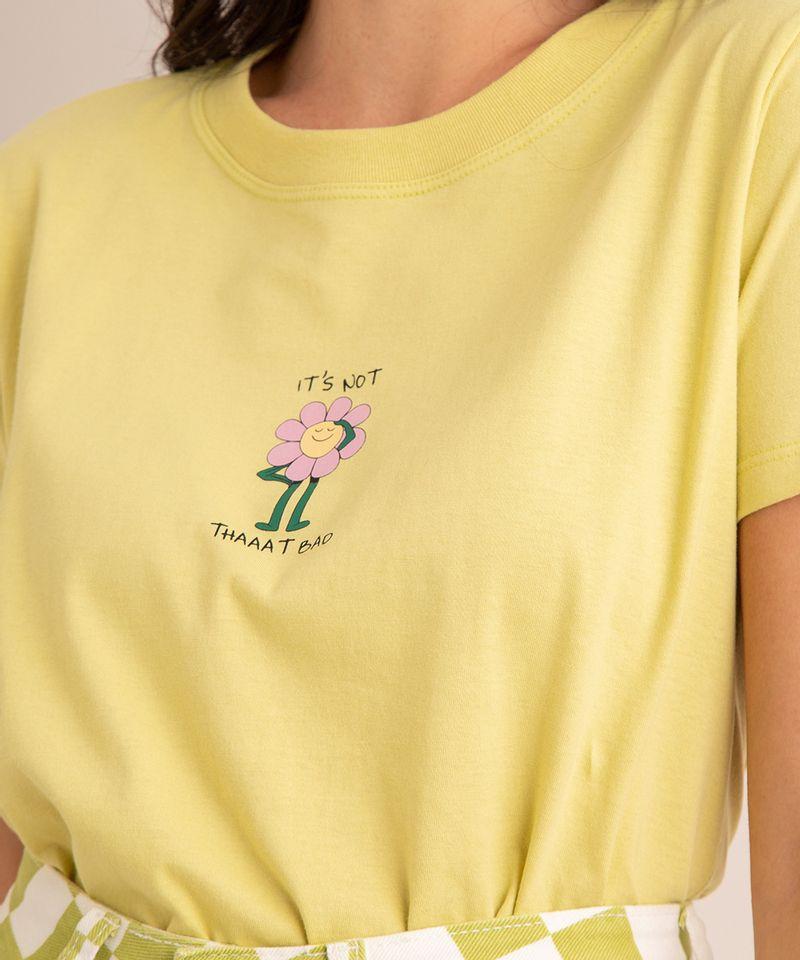 camiseta-oversized-de-algodao--it-s-not-thaaat-bad--manga-curta-decote-redondo-verde-claro-1004988-Verde_Claro_2