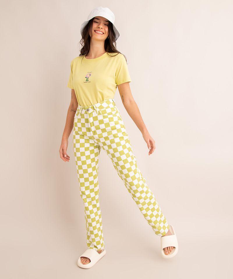 camiseta-oversized-de-algodao--it-s-not-thaaat-bad--manga-curta-decote-redondo-verde-claro-1004988-Verde_Claro_3