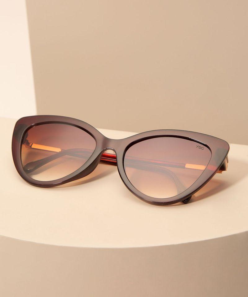 Oculos-de-Sol-Feminino-Gatinho-Yessica-Marrom-1008200-Marrom_2