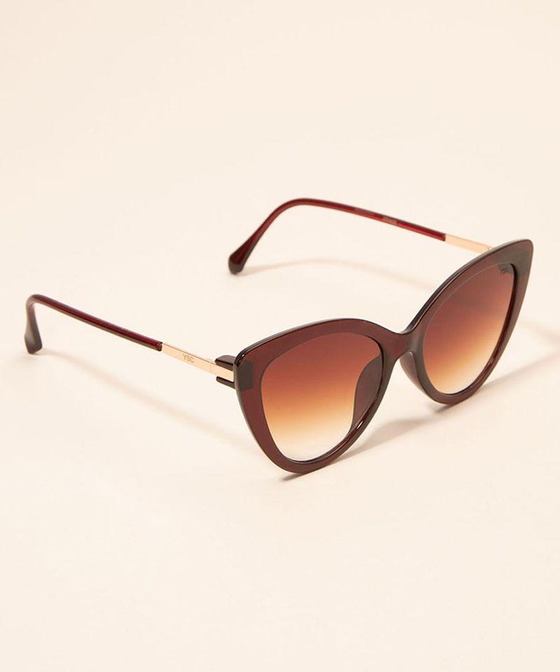 Oculos-de-Sol-Feminino-Gatinho-Yessica-Marrom-1008200-Marrom_3