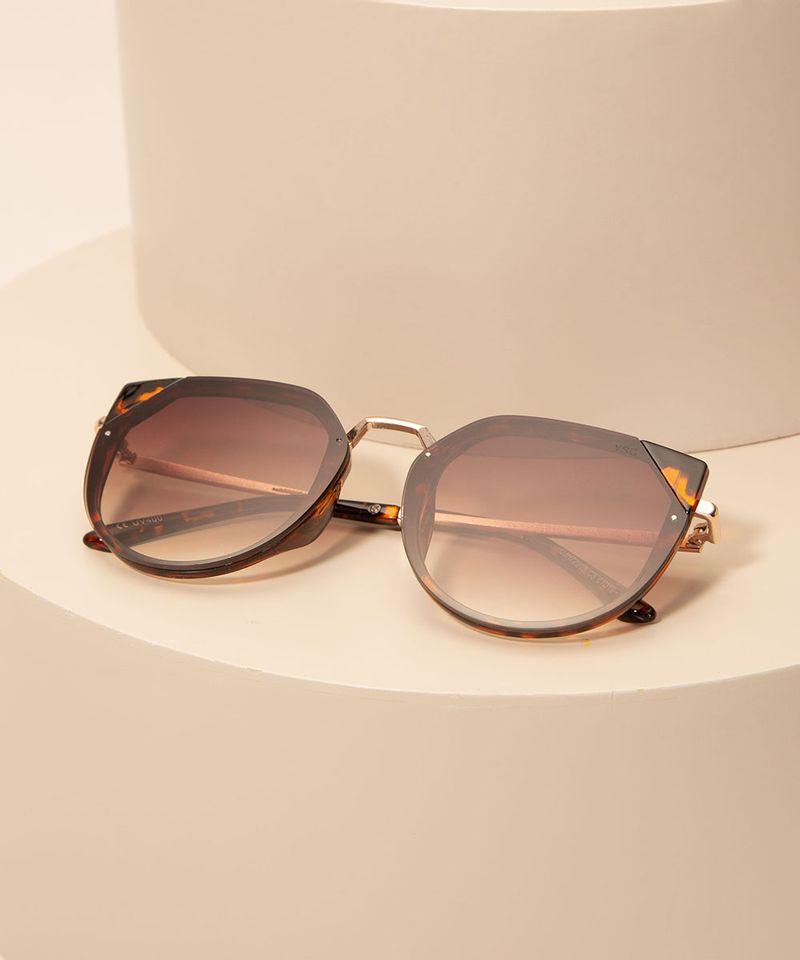 Oculos-de-Sol-Feminino-Gatinho-Yessica-Tartaruga-1008205-Tartaruga_2