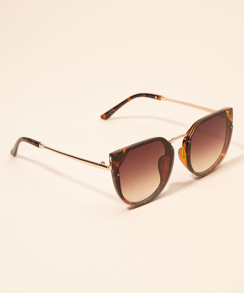 Oculos-de-Sol-Feminino-Gatinho-Yessica-Tartaruga-1008205-Tartaruga_3