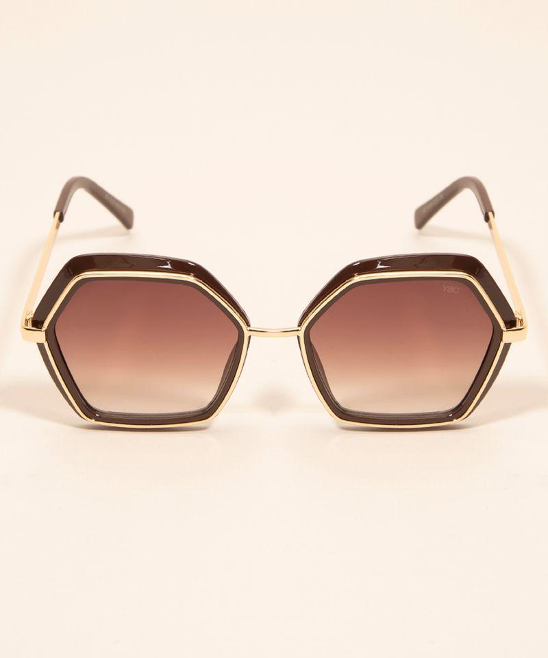 Oculos-de-Sol-Feminino-Geometrico-Yessica-Marrom-1008201-Marrom_1