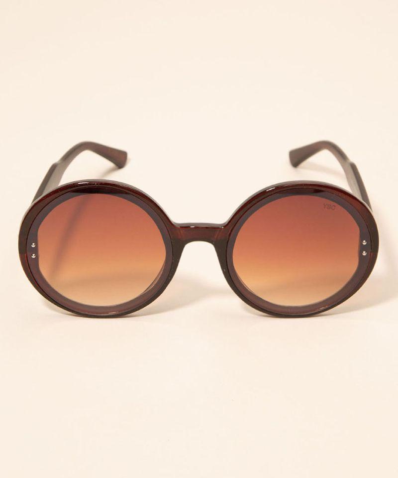 Oculos-de-Sol-Feminino-Redondo-Yessica-Marrom-1008229-Marrom_1