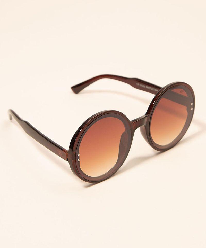 Oculos-de-Sol-Feminino-Redondo-Yessica-Marrom-1008229-Marrom_3