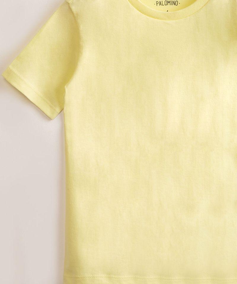 Camiseta-Infantil-de-Algodao-Basica-Manga-Curta-Amarelo-Claro-9976961-Amarelo_Claro_4