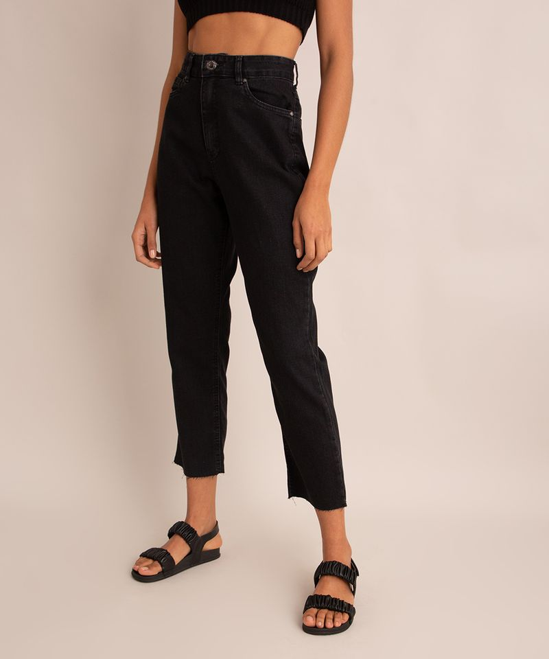 calca-reta-vintage-jeans-cintura-super-alta-cropped-preta-9992145-Preto_2