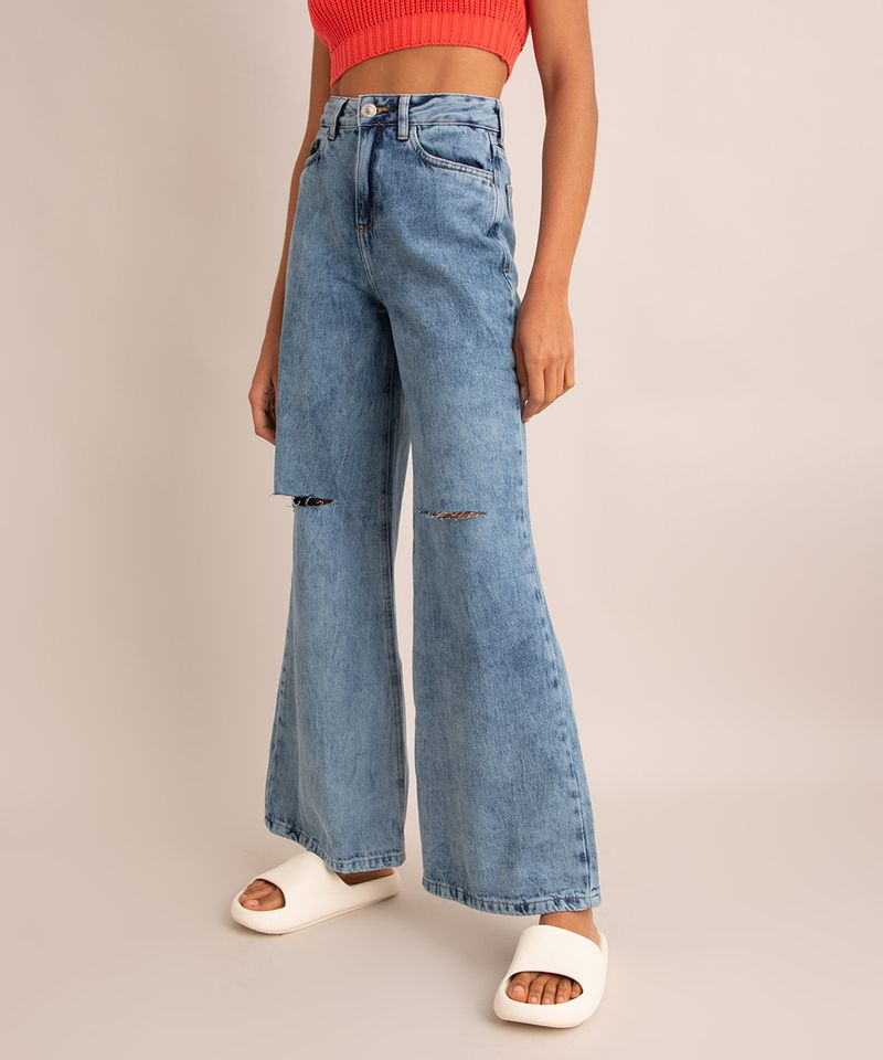 calca-wide-pantalona-jeans-marmorizada-com-rasgos-cintura-super-alta-azul-medio-1007590-Azul_Medio_2