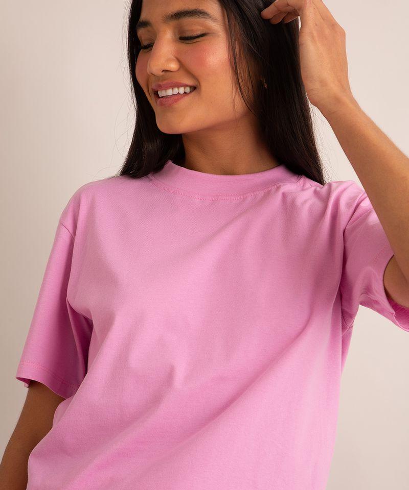 camiseta-de-algodao-basica-manga-curta-gola-alta-rosa-1004121-Rosa_4