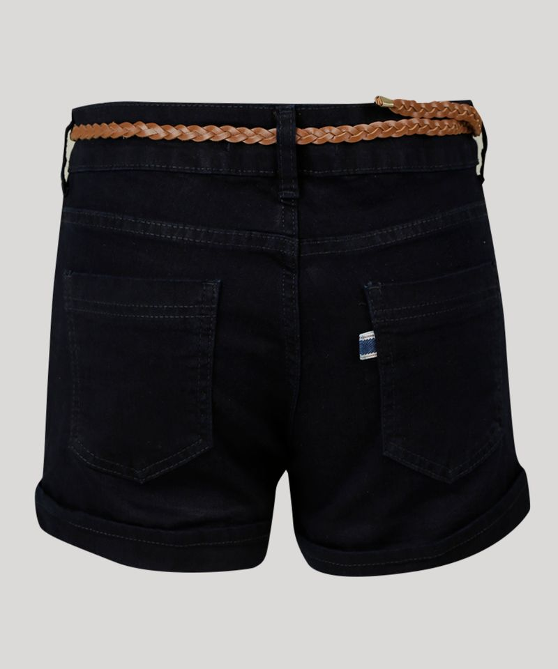 Short-Jeans-Feminino-Reto-com-Cinto-Azul-Escuro-9073639-Azul_Escuro_6
