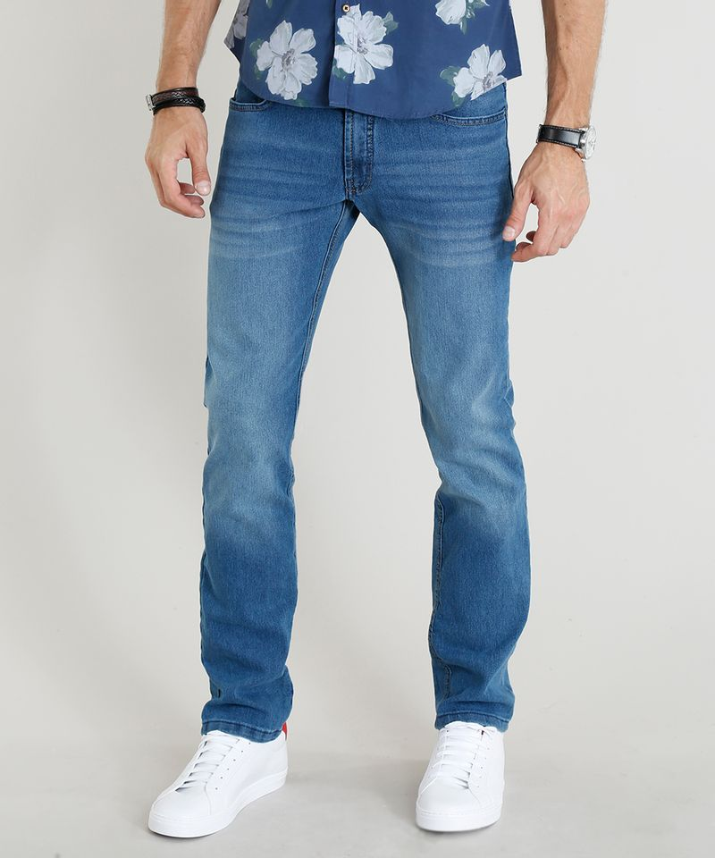 Calca-Jeans-Masculina-Reta-Azul-Medio-8699129-Azul_Medio_1