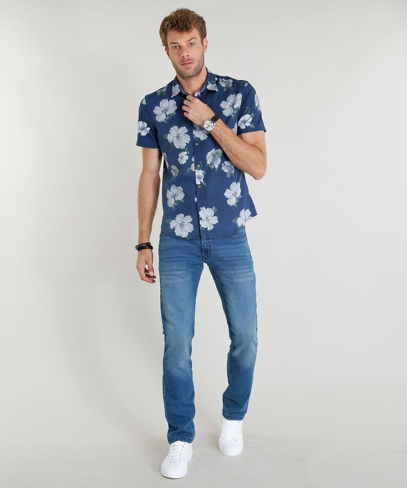 Calca-Jeans-Masculina-Reta-Azul-Medio-8699129-Azul_Medio_3
