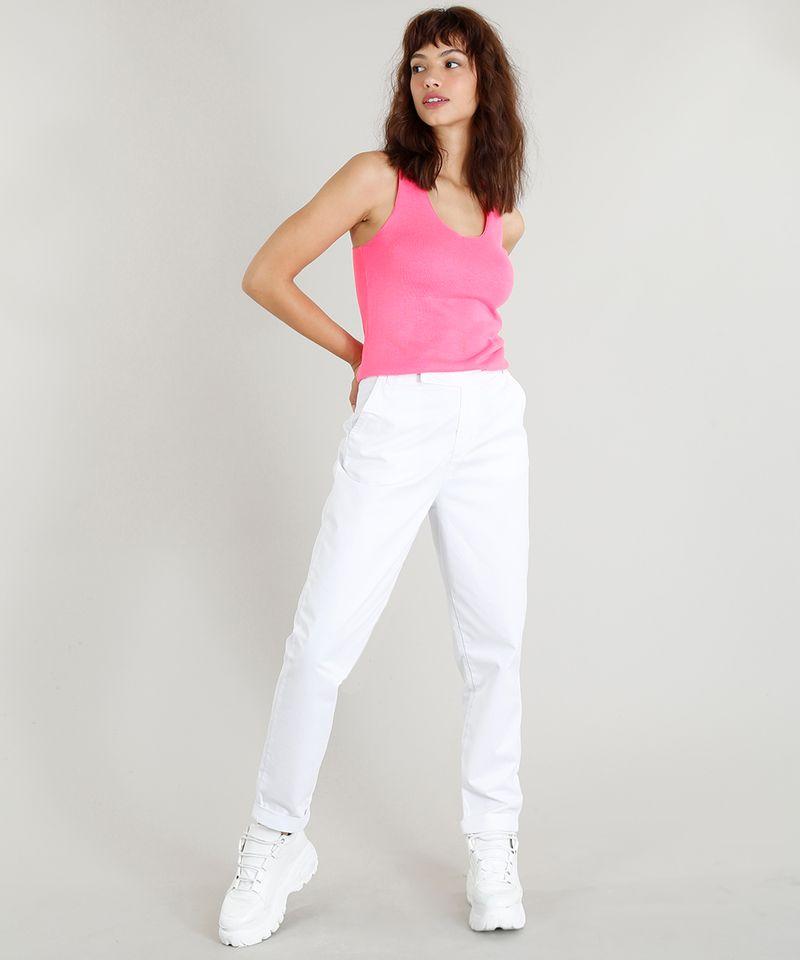 Regata-Feminina-Mindset-em-Trico-Decote-V-Rosa-Neon-9417152-Rosa_Neon_3