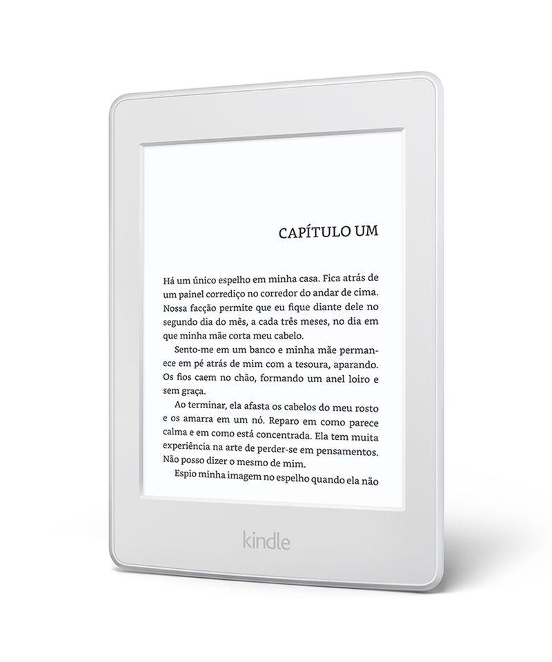 """Kindle-Paperwhite-AO0456-com-wi-fi-4gb-tela-6""""-alta-definicao-sensivel-ao-toque-iluminacao-embutida---2-e-books-gratis--Branco-8160991-Branco_4"""
