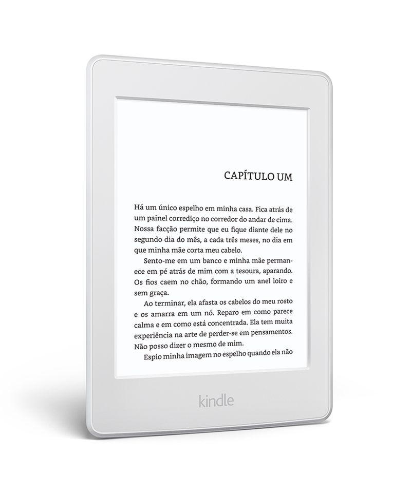 """Kindle-Paperwhite-AO0456-com-wi-fi-4gb-tela-6""""-alta-definicao-sensivel-ao-toque-iluminacao-embutida---2-e-books-gratis--Branco-8160991-Branco_5"""
