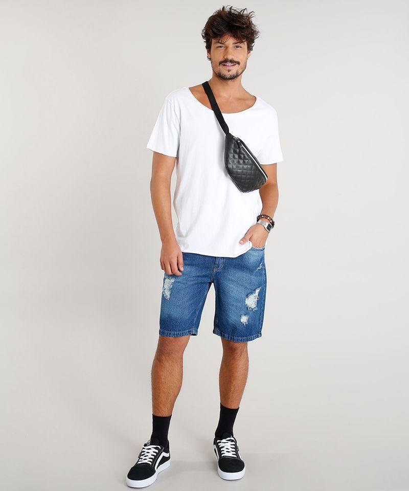 Camiseta-Masculina-Longa-Manga-Curta-Gola-Canoa-Branca-9419273-Branco_3