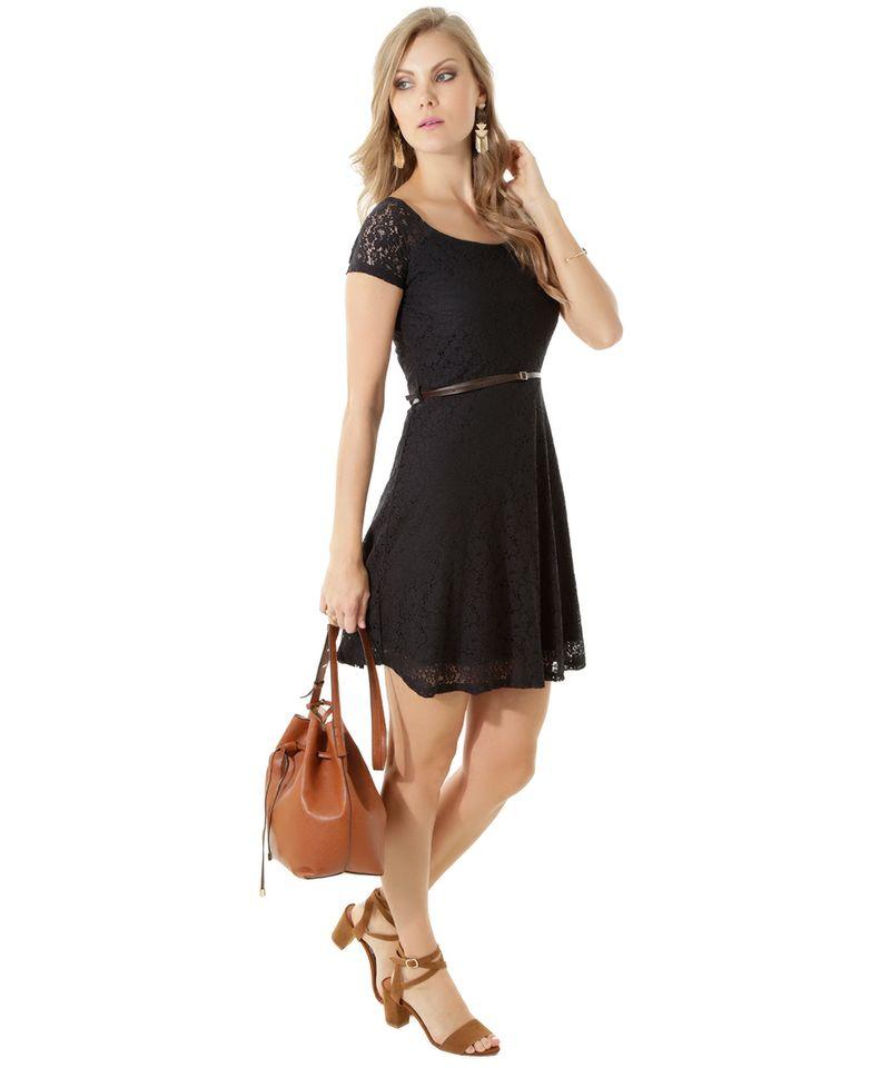 Vestido-em-Renda-com-Cinto-Preto-8396094-Preto_3