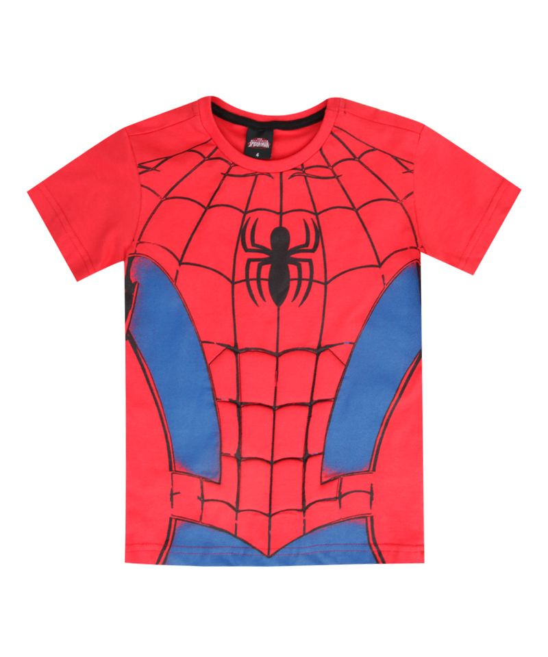 Camiseta-Homem-Aranha-Vermelha-8390580-Vermelho_1