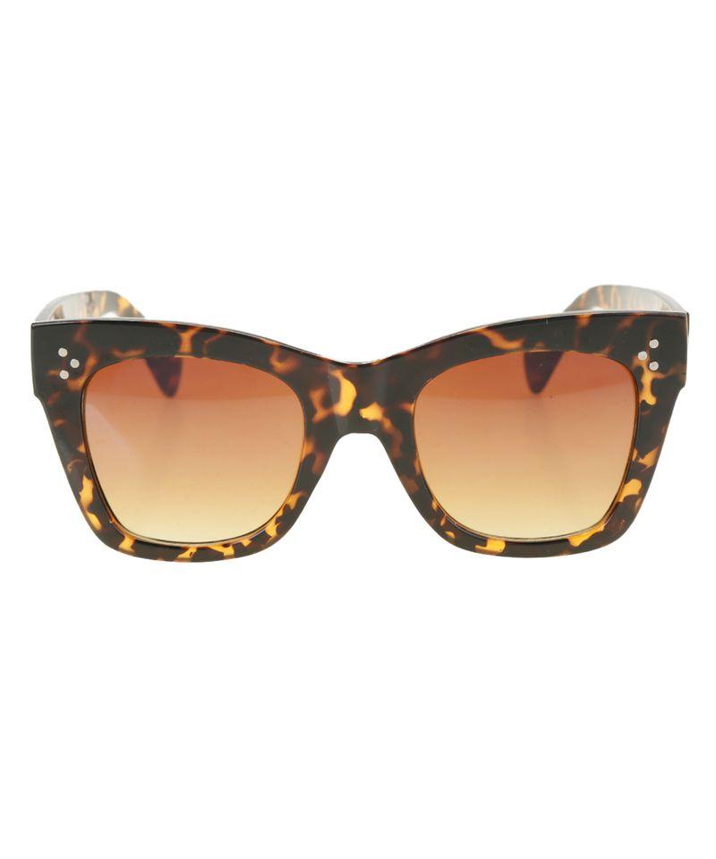 Oculos-Gatinho-Feminino-Oneself-Tartaruga-8483558-Tartaruga_1