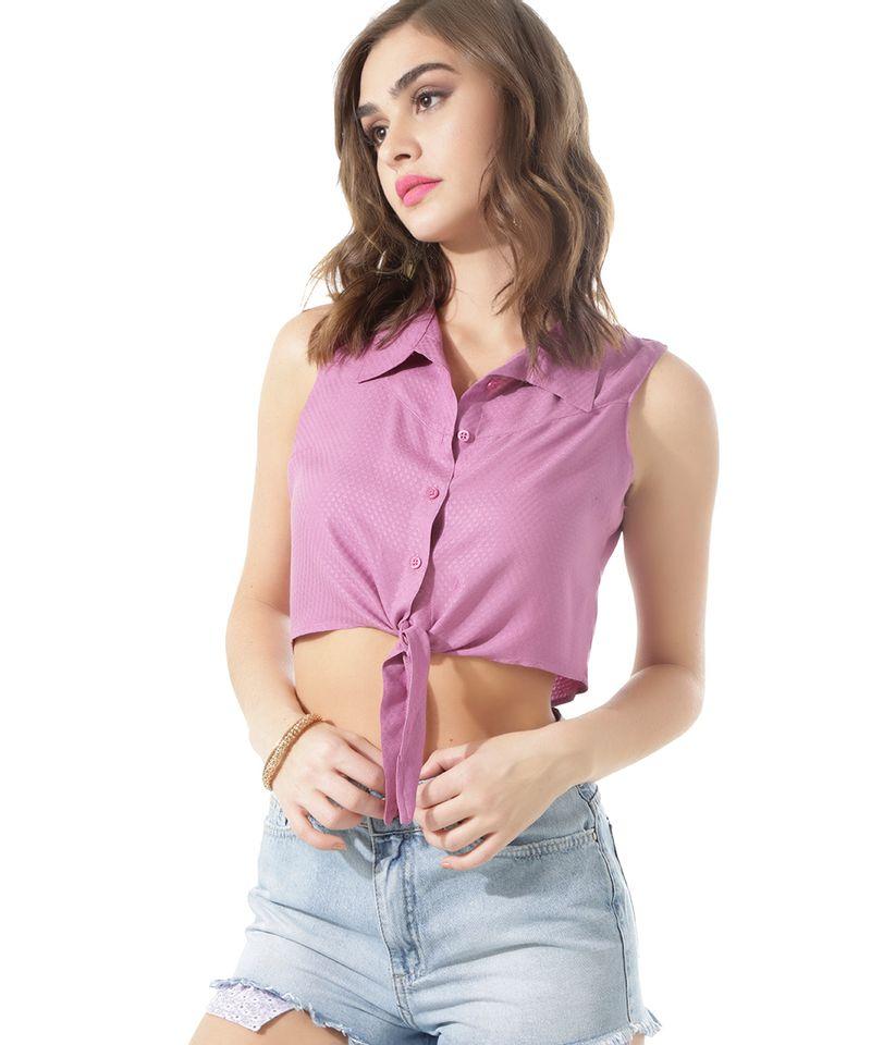 Camisa-Cropped-com-Amarracao-Lilas-8429995-Lilas_1