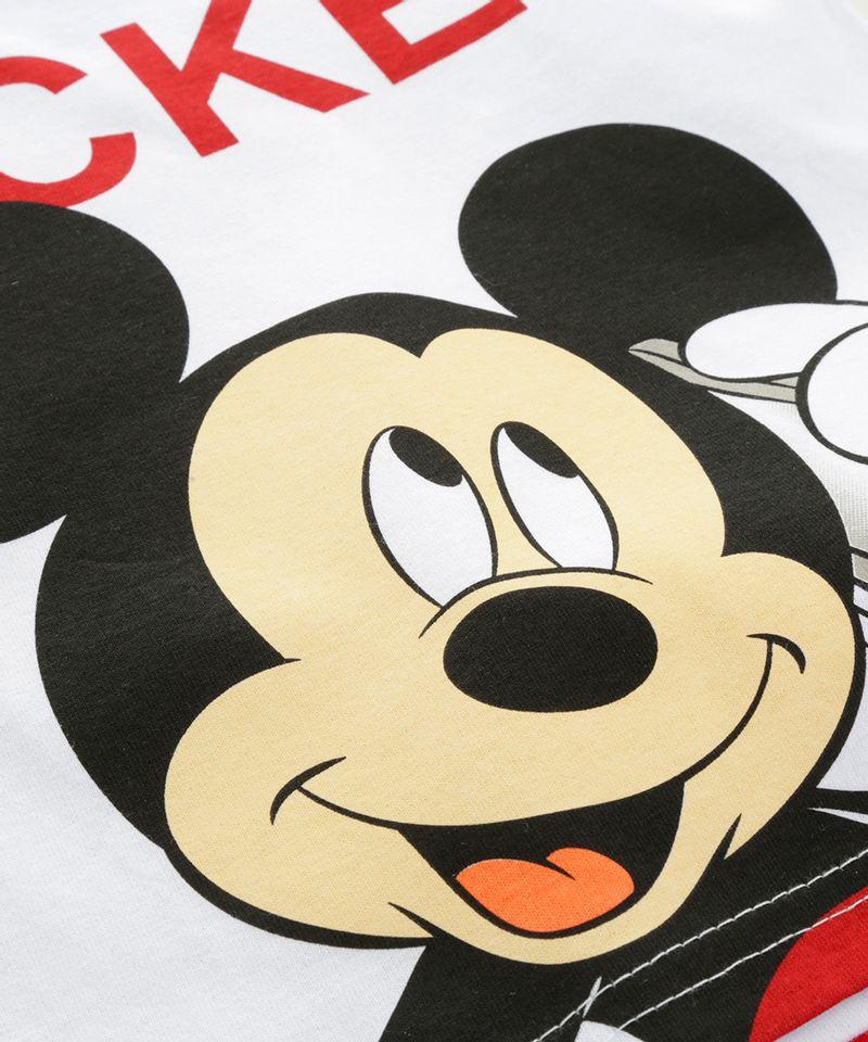 Conjunto-de-Camiseta-Branca---Bermuda-Mickey-Vermelha-8392737-Vermelho_4