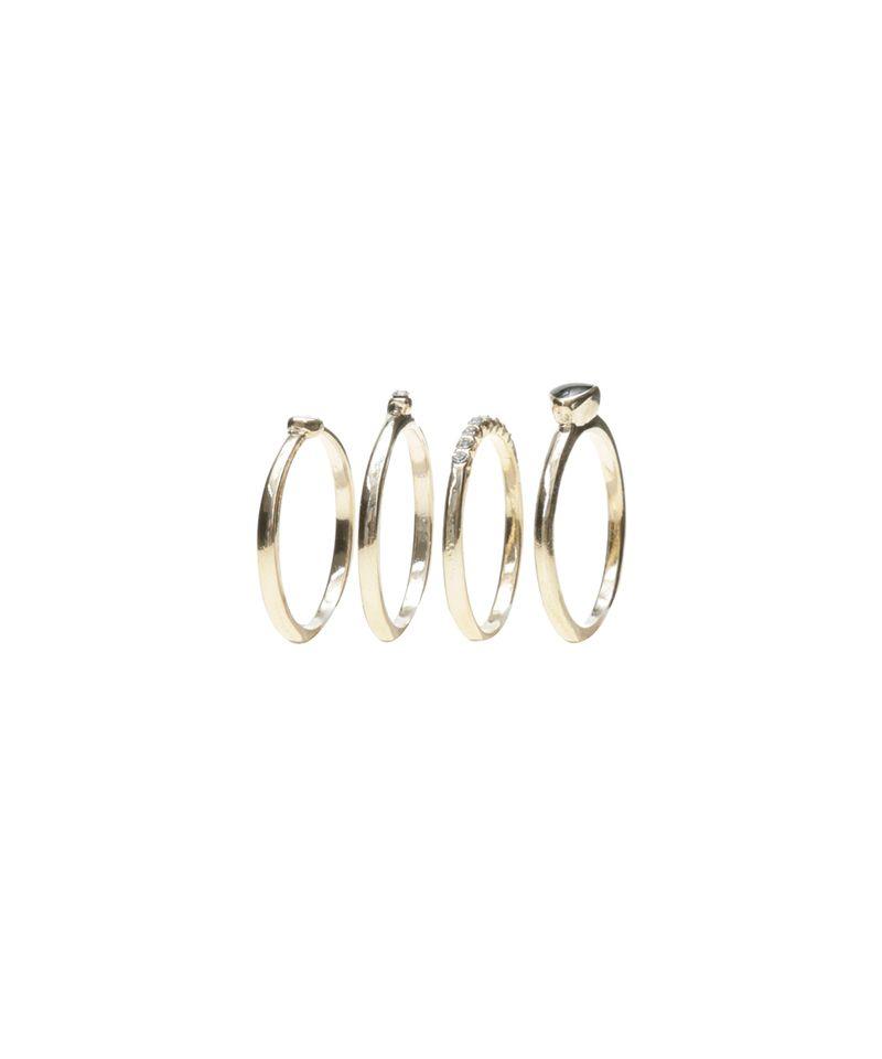 Kit-de-4-Aneis-Dourado-8457560-Dourado_1