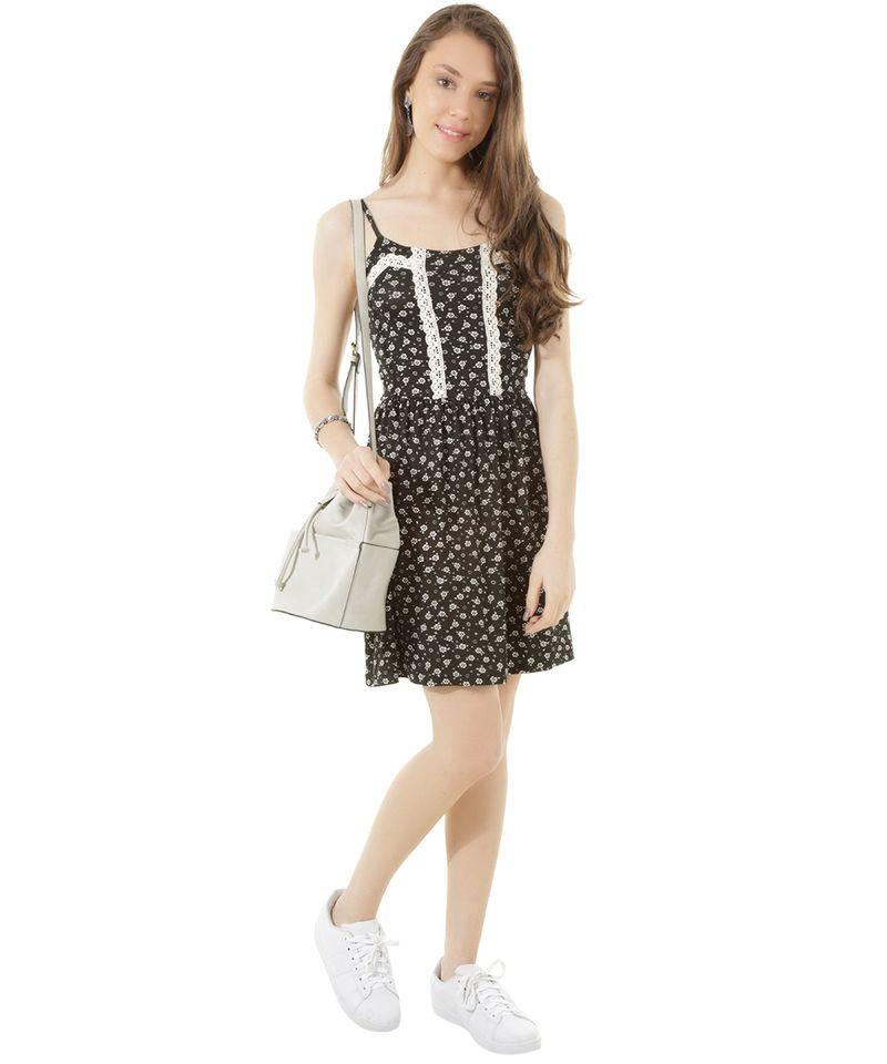 Vestido-Estampado-Floral-com-Renda-Preto-8374644-Preto_3