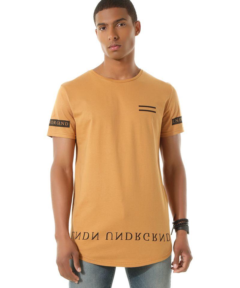 Camiseta-Longa--Lndn-Undrgrnd--Caramelo-8450489-Caramelo_1