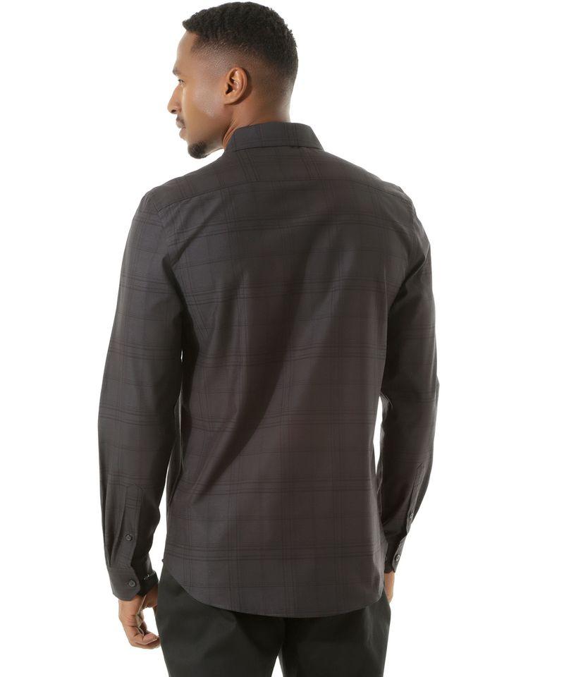 Camisa-Social-Slim-Xadrez-Preta-8303262-Preto_2