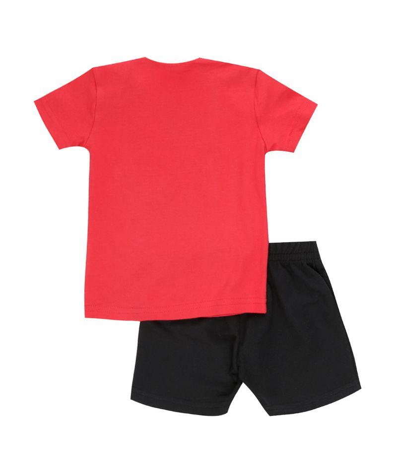 Conjunto-Taz-de-Camiseta-Vermelha---Bermuda-Preta-8378640-Preto_2