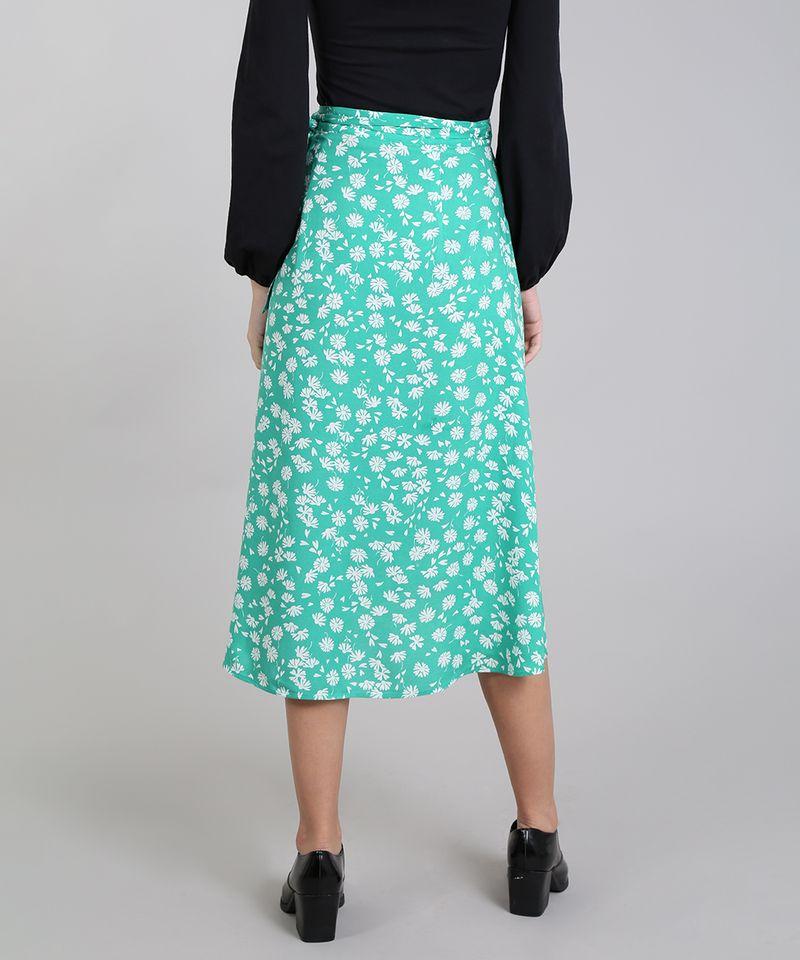 Saia-Envelope-Feminina-Mindset-Floral--Verde-9601048-Verde_2