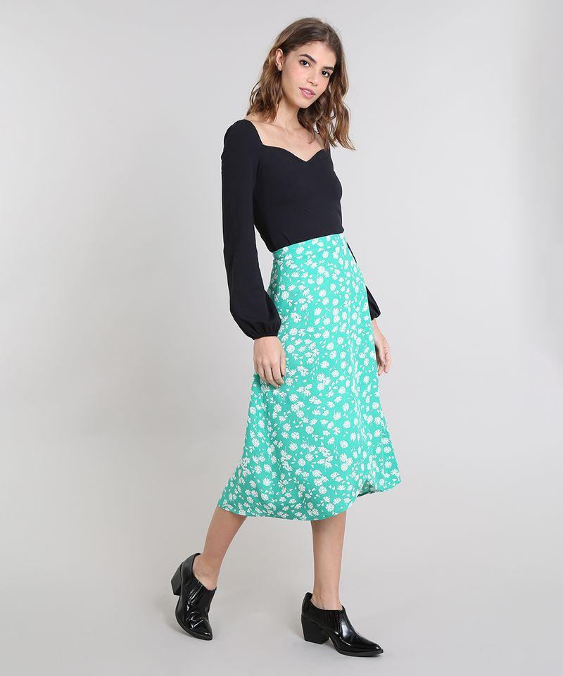 Saia-Envelope-Feminina-Mindset-Floral--Verde-9601048-Verde_3