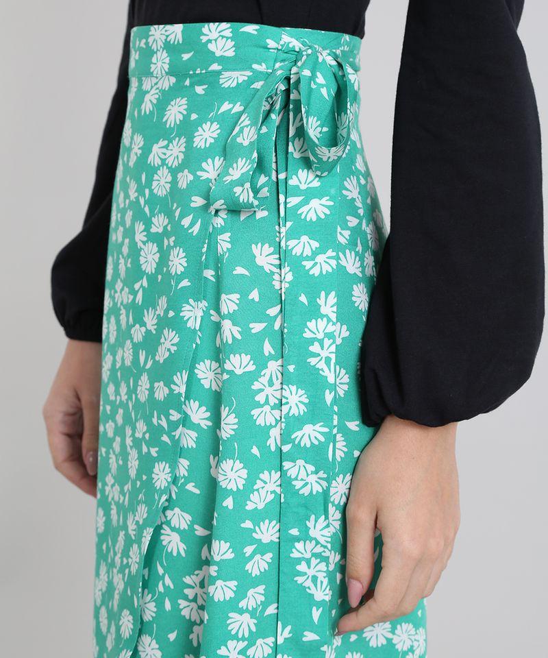 Saia-Envelope-Feminina-Mindset-Floral--Verde-9601048-Verde_4