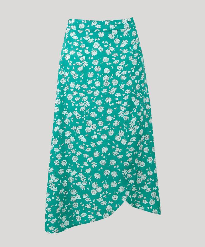 Saia-Envelope-Feminina-Mindset-Floral--Verde-9601048-Verde_5