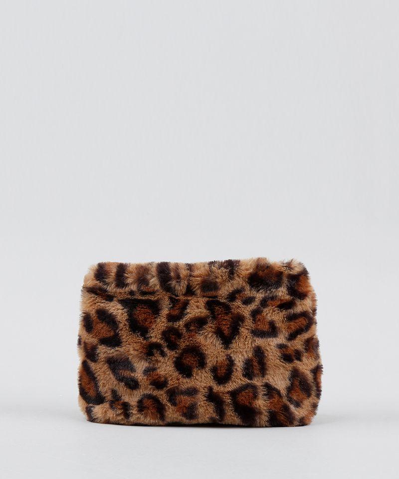 Bolsa-Feminina-Transversal-Pequena-Estampada-Animal-Print-em-Pelucia-Bege-9484643-Bege_1