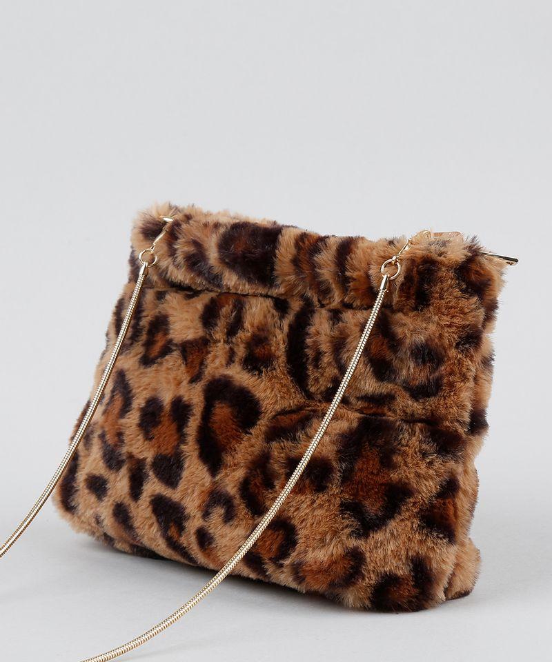Bolsa-Feminina-Transversal-Pequena-Estampada-Animal-Print-em-Pelucia-Bege-9484643-Bege_4