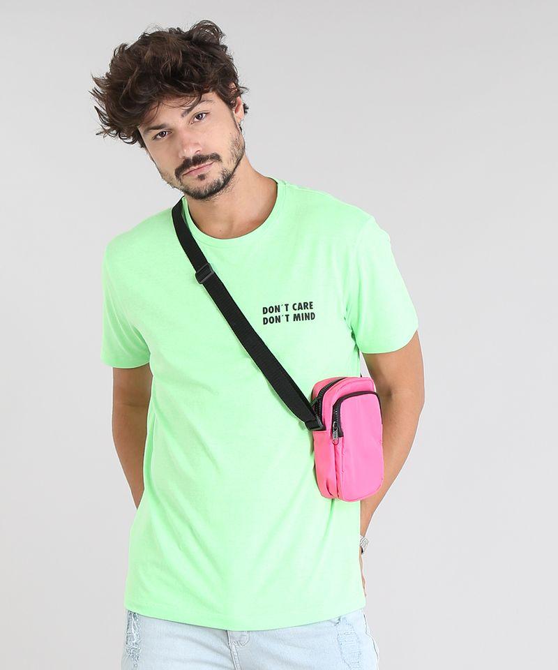 Bolsa-Shoulder-Bag-Unissex-Transversal-Pequena-com-Bolso-Rosa-Neon-9529878-Rosa_Neon_3