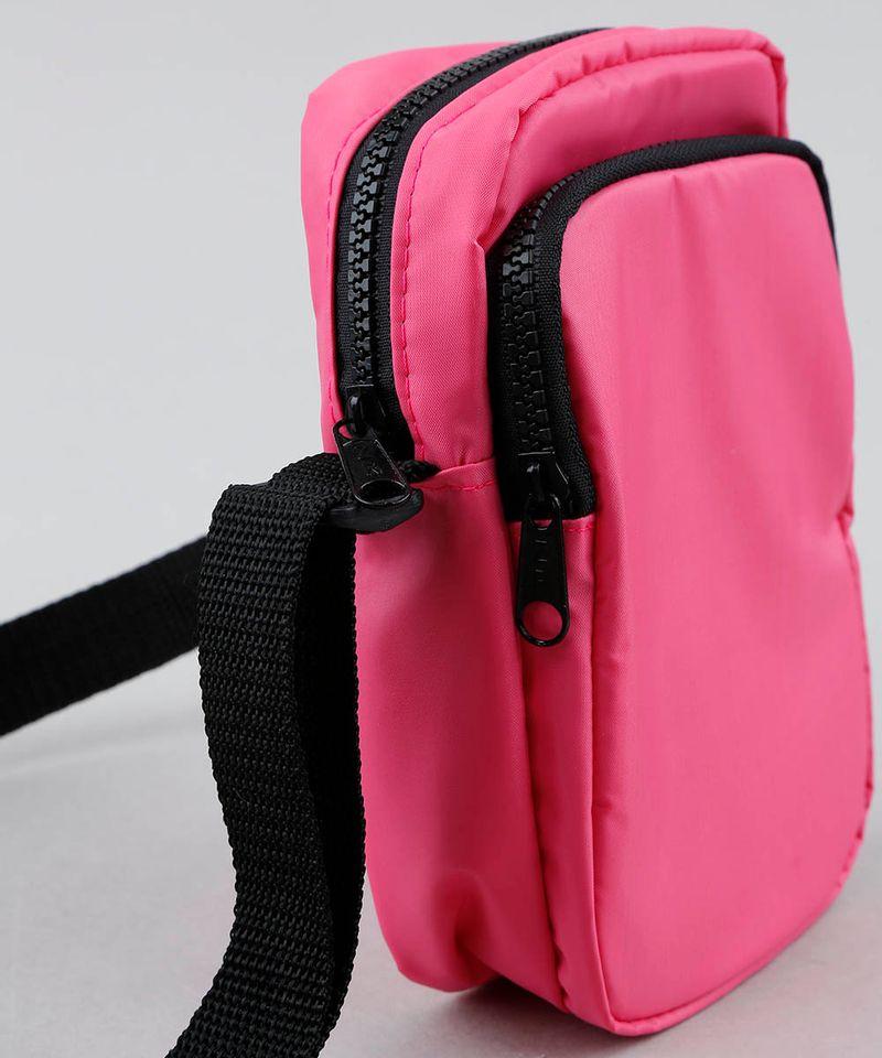 Bolsa-Shoulder-Bag-Unissex-Transversal-Pequena-com-Bolso-Rosa-Neon-9529878-Rosa_Neon_6