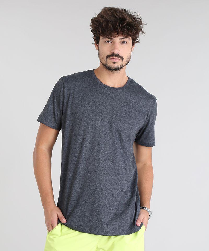 Camiseta-Masculina-com-Estampa-Neon--Paradise-Beach--Manga-Curta-Gola-Careca-Cinza-Mescla-Escuro-9601070-Cinza_Mescla_Escuro_2