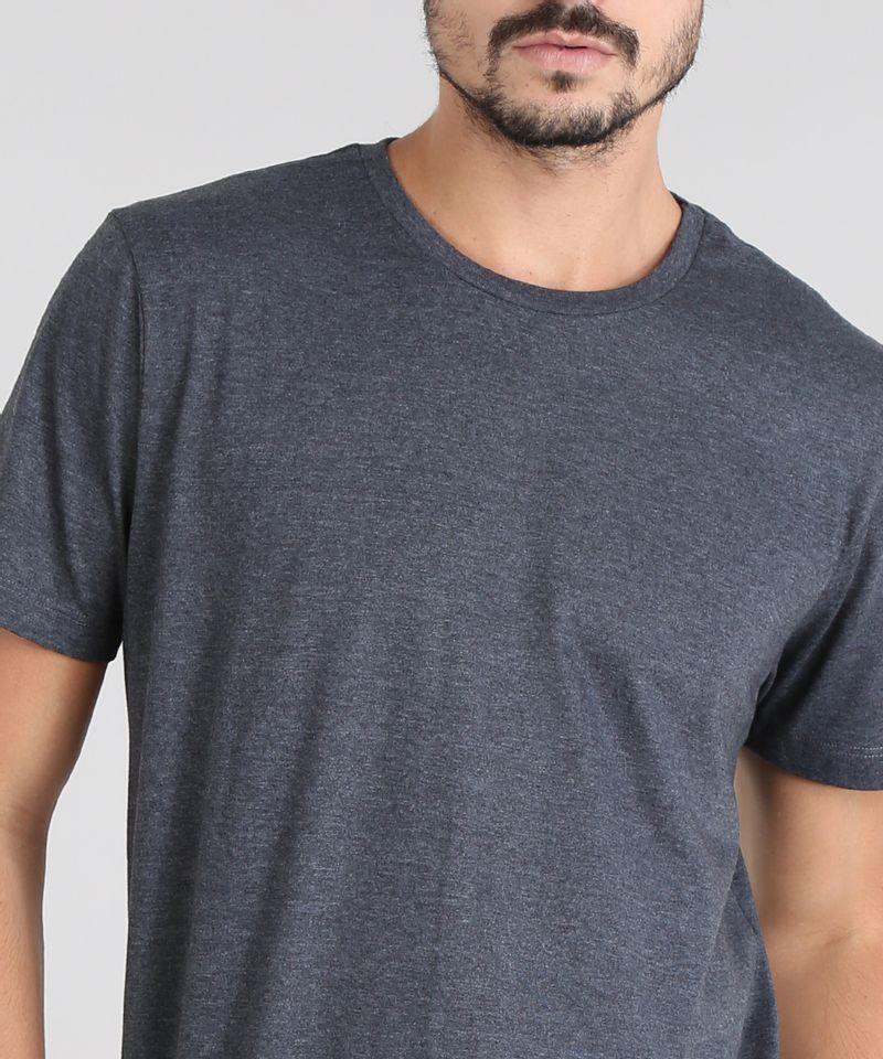 Camiseta-Masculina-com-Estampa-Neon--Paradise-Beach--Manga-Curta-Gola-Careca-Cinza-Mescla-Escuro-9601070-Cinza_Mescla_Escuro_4